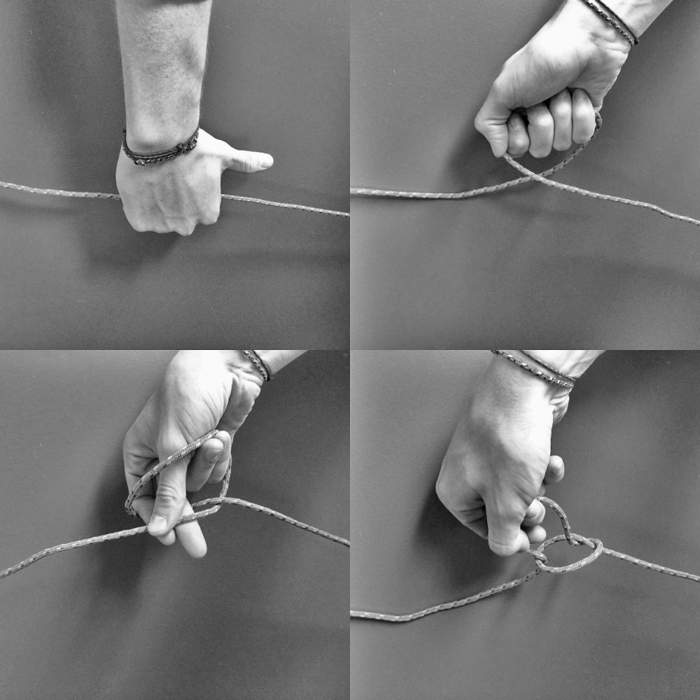 Knots And Tarps How To Tie A Square Knot Diagram Shoe The Ins Outs Trucker